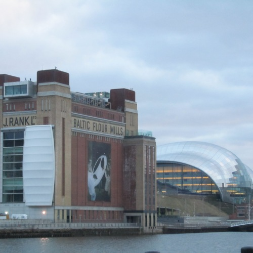 View from the Quayside of the Baltic & the Sage. Photo credit: adoredee.com