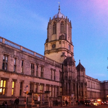 Christ Church in the evening. Oh how I miss thee Oxford!