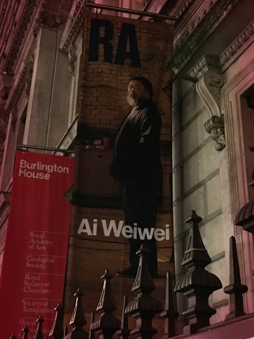 Ai Weiwei Exhibition at the Royal Academy of Arts