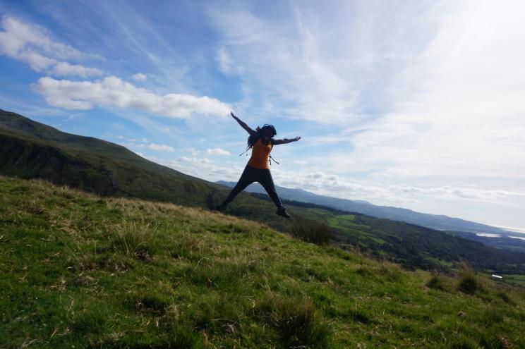 Jumping Jacks in Snowdon!