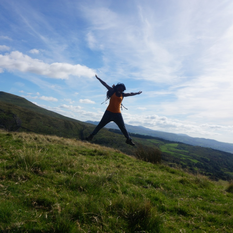 Jumping Jacks in Snowdon!