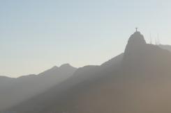 Christ the Redeemer silhouette