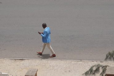 A sharply dressed gentleman in Abuja