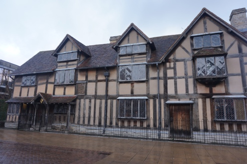 Where Shakespeare was born